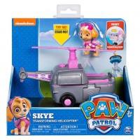 Figurina si autovehicul Paw Patrol - Elicopterul lui Skye
