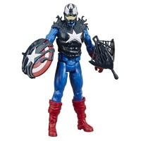Figurina Max Venom Capitan America cu accesorii