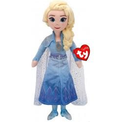 Papusa de plus Ty Elsa Frozen 2 cu sunete 40 cm