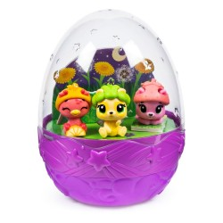 Set figurine Hatchimals cu compartimente secrete