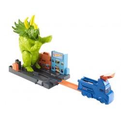 Set de joaca Hot Wheels - Dinozaurul furios