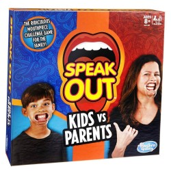 Joc Hasbro Speak Out - Copii contra parinti
