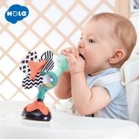 Jucarie bebe cu ventuza - Paun
