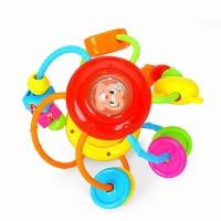 Jucarie motrica minge cu activitati Hola Toys