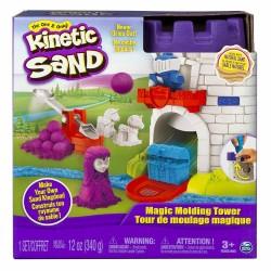 Set creativ Kinetic Sand Castelul cu Nisip si Forme