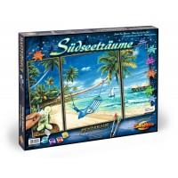 Kit 3 tablouri pictura pe numere Schipper - Pe plaja