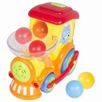 Locomotiva cu sunete si lumini Hola Toys