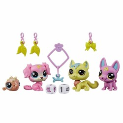 Set figurine Littlest Pets Shop - Echipa norocoasa