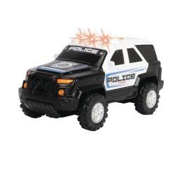 Masina de politie cu sunete si lumini 15 cm Dickie Toys