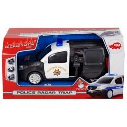 Masina de politie cu radar Dickie Toys