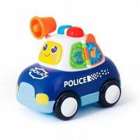 Masina de politie cu lumini si sunete
