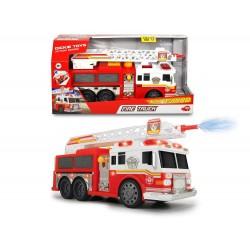 Masina de pompieri cu apa, sunete si lumini 36 cm