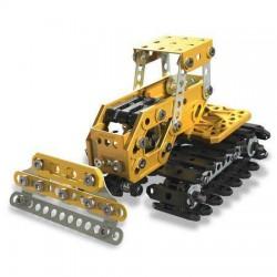 Set constructie metalic Meccano Kit 2 in 1 Excavator Buldozer