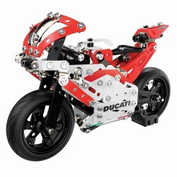 Set constructie Meccano Ducati Moto GP cu suspensie