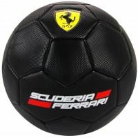 Minge de fotbal Ferrari neagra marimea 5 editie limitata