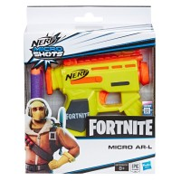 Blaster Nerf Microshots Fortnite AR-L