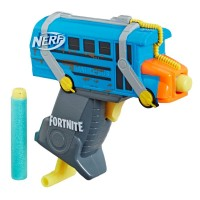 Blaster Nerf Microshots Fortnite Battle Bus