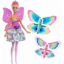Papusa Barbie Dreamtopia Zana Zburatoare