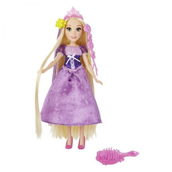 Papusa Rapunzel cu accesorii de par