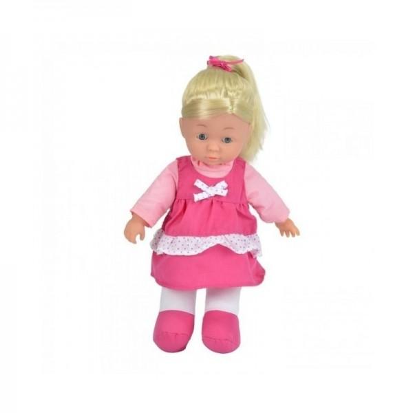 Papusa Soft Julia 30 cm - Roz