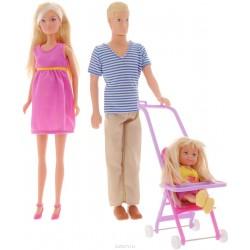 Papusa Steffi Love - Familia fericita
