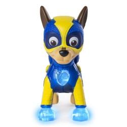Figurina articulata cu lumini Mighy Pups Chase Patrula Catelusilor