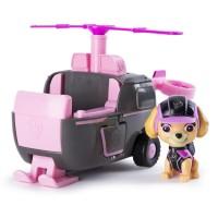 Set elicopter cu figurina Skye Patrula Catelusilor