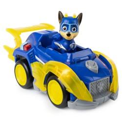 Set figurina Chase si masina de politie cu lumini si sunete Patrula Catelusilor