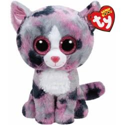 Pus Pisica roz Boos Lindi 24 cm Ty