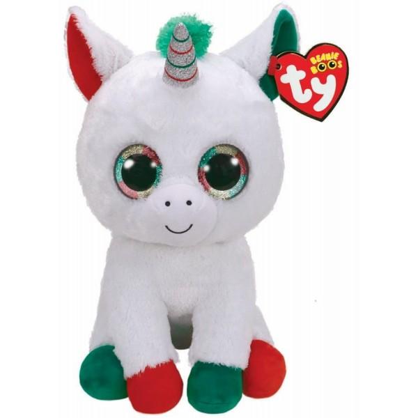 Plus Ty Boos Candy Cane Unicorn 42 cm
