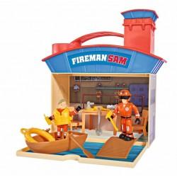 Pompierul Sam - Centru de activitati marine cu 2 figurine