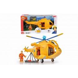 Pompierul Sam - Elicopter Wallaby 2 cu figurina