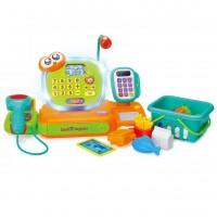 Prima mea casa de marcat cu lumini si sunete Hola Toys