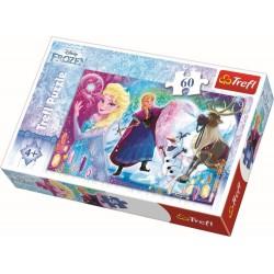 Puzzle Trefl Surpriza pentru Elsa 60 piese
