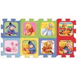 Puzzle spuma Winnie the Pooh 8 piese Trefl
