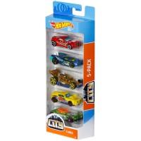 Set 5 masini Hot Wheels City