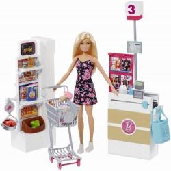 Set de joaca Barbie Supermarket