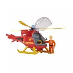 Pompierul Sam - Elicopter Wallaby cu figurina