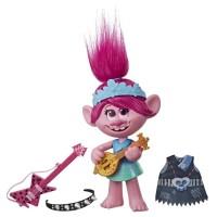 Figurina muzicala Trolls Poppy Pop to Rock