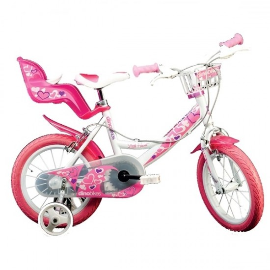 Bicicleta copii 14 inch Dino Bikes 144 RN