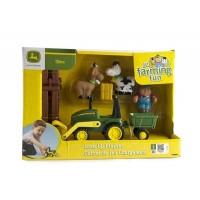 Set de joaca Tractor cu incarcator Biemme Johnny Deere