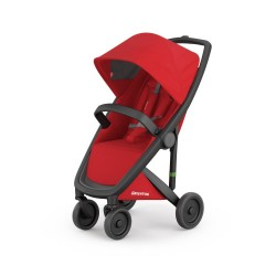 Carucior Greentom Classic Upp 100% Ecologic Black Red
