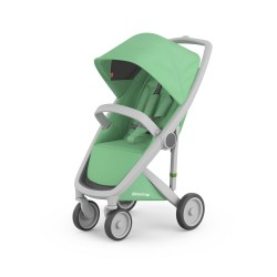 Carucior Greentom Classic Upp 100% Ecologic Grey Mint