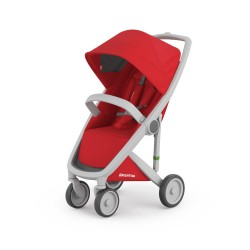 Carucior Greentom Classic Upp 100% Ecologic Grey Red