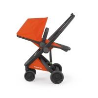 Carucior Greentom Reversible 100% Ecologic Black Orange