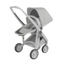 Carucior Greentom Reversible 100% Ecologic Grey Grey