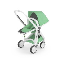 Carucior Greentom Reversible 100% Ecologic White Mint