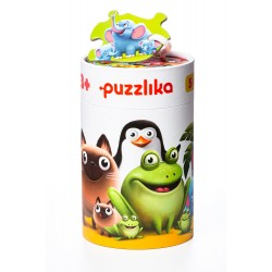 Puzzle 5 in 1 Cubika Familia Potrivita