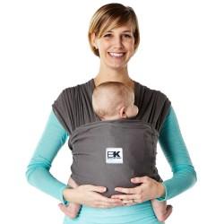Sistem Purtare Baby K'tan Baby Carrier Breeze - Charcoal - Marimea S