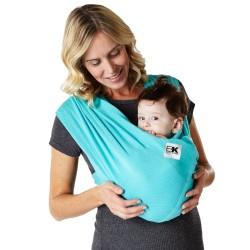 Sistem Purtare Baby Ktan Baby Carrier Breeze -Teal - Marimea XS